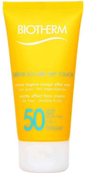 Biotherm Creme Solaire Dry Touch Face Cream SPF50 50ml