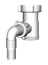 Skalbyklės ir indaplovės jungtis Aniplast M110 1½