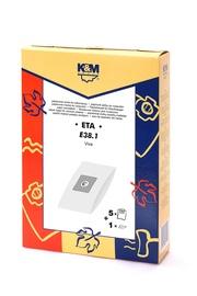 Dulkių siurblių maišeliai E38 ETA 1458 (5+1)