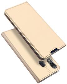 Dux Ducis Skin Pro Bookcase For Samsung Galaxy A20e Gold