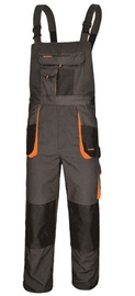 Art.Master Classic Working Bib Pants Grey/Orange 58