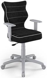 Vaikiška kėdė Entelo Duo Size 5 VS01 Grey/Black, 400x375x1000 mm