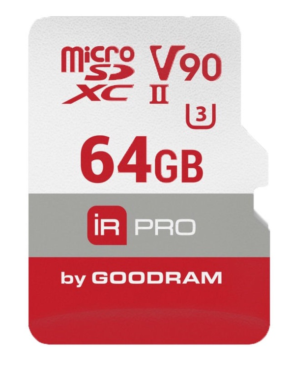 GoodRam Iridium Pro microSDXC V90 64GB UHS-II U3