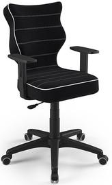 Детский стул Entelo Duo Size 6 JS01, черный, 400 мм x 1045 мм