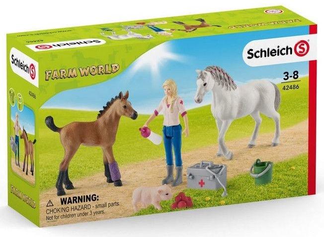 Schleich Farm World Vet Visiting 42486