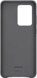 Samsung Leather Back Case For Samsung Galaxy S20 Ultra Gray