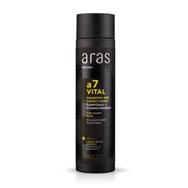 Plaukų šampūnas ir kondicionierius vyrams Aras a7 Vital, 250 ml