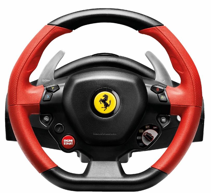 Игровой руль Thrustmaster Ferrari Spider 458