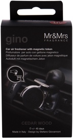 Mr & Mrs Fragrance Gino Car Air Freshner Cedar Wood