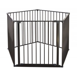 BabyDan Safety Gate Flex XXL Black