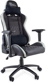 Žaidimų kėdė WhiteShark Nitro GT Y-2625 Black/White