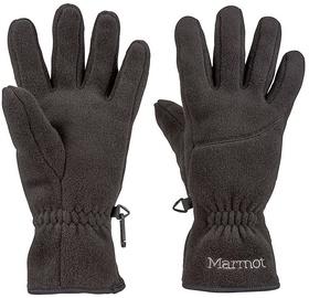 Pirštinės Marmot Fleece Black, M