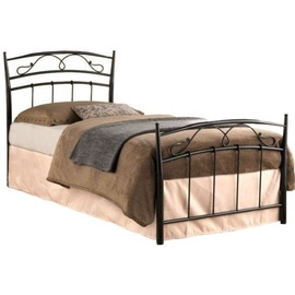 Signal Meble Siena Bed 90x200cm Black
