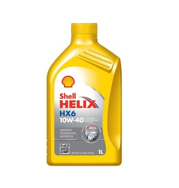 Automobilio variklio tepalas Shell Helix HX6, 10W-40, 1 l
