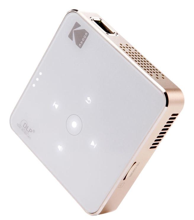 Kodak DLP Portable Projector White/Gold