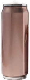 Yoko Design Isotherm Tin Can 0.5l Shiny Brown
