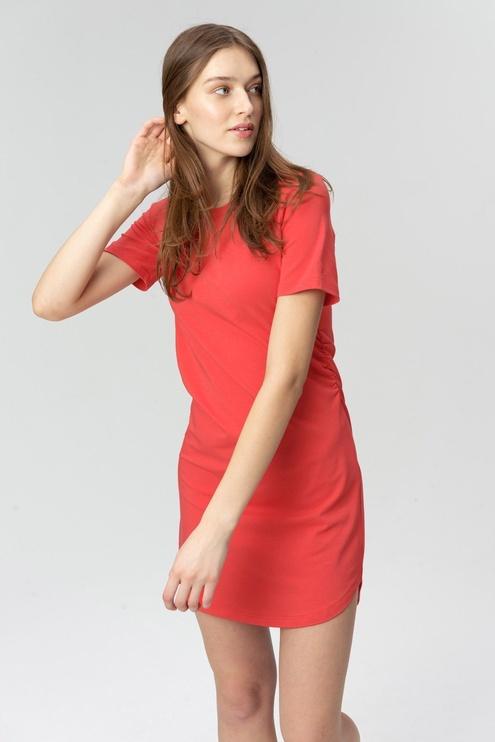 Audimas Soft Touch Modal Dress Poppy Red L
