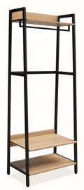 Signal Meble Sol C Clothes Hanger Oak/Black