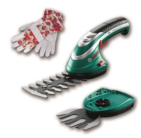 Bosch ISIO 3 Cordless Grass Shears w/ Gloves