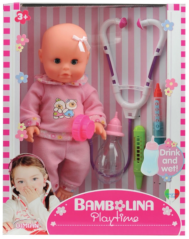 fb43196a353 Dimian Bambolina Playtime Doctor Set 1416 - Krauta.ee