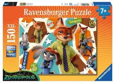 Puzle Ravensburger Disney Zootropolis 10028, 150 gab.