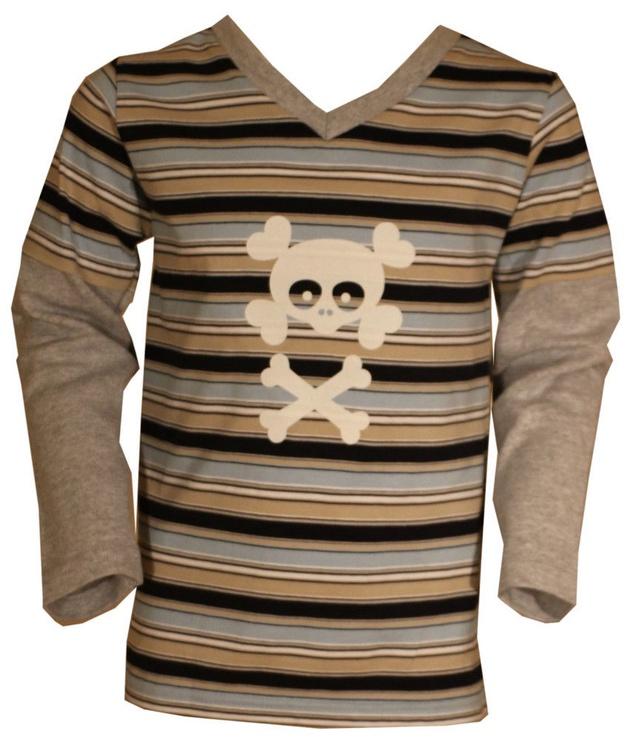 Детская рубашка Bars Junior 38, коричневый, 116 см