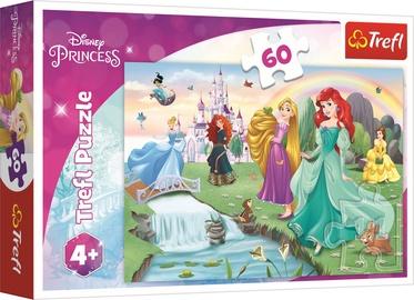 Puzle Trefl Disney Princess, 60 gab.