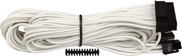 Corsair Premium Individually Sleeved ATX 24-Pin Cable Type 4 (Gen 3) White