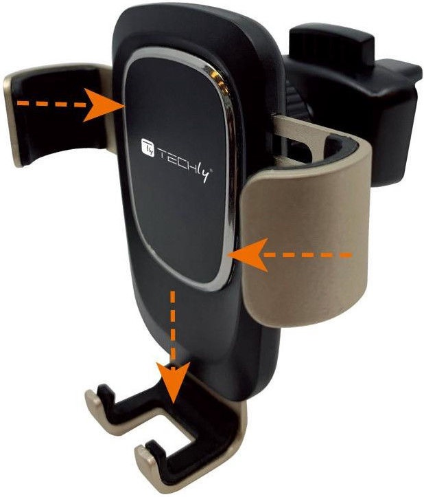 Держатель для телефона Techly Smartphone Holder Car Air Vent With Gravity System 106688