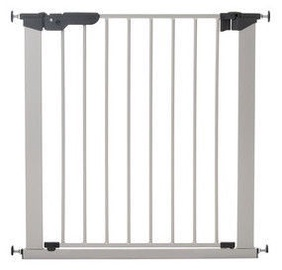 BabyDan Premier Safety Gate + 2 Ext Silver/Black