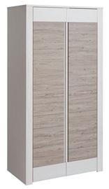 Гардероб Halmar Alvo SZF2D, белый/кремовый, 58x102x198 см