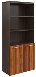 Skyland Morris Office Cabinet MHC 85.5 Wenge Magic/Macassar