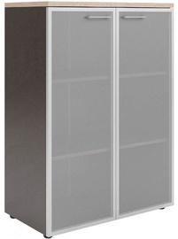 Skyland Xten XMC 85.7 Office Cabinet 85.6x119x43.2cm Beech Tiara/Dark Wood