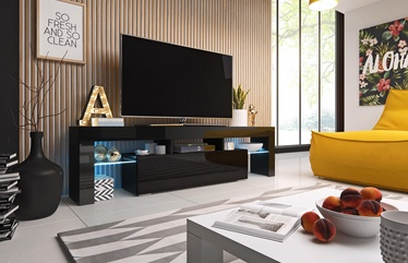 Cama Meble Toro 158 TV Stand Black/Black Gloss