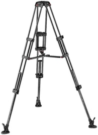 Manfrotto CF Twin Leg With Middle Spreader Video Tripod