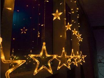Visional LED Stars GFS-2X1-WW 2m Warm White