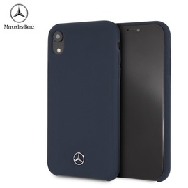 Mercedes Silicone Case For Apple iPhone Xr Dark blue