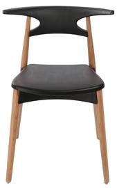 Home4you Chair Aries Black 27757