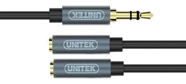 Unitek Cable 3.5mm Minijack / 3.5mm Minijack Black 0.2m
