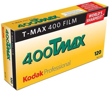 Kodak Professional T-Max TMY 400 Black and White Negative 120 Roll Film