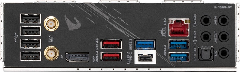 Mātesplate Gigabyte Z590 Aorus Elite AX