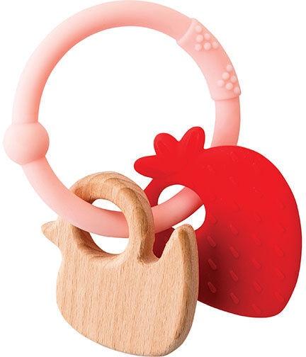 Nattou Teething Toy Strawberry