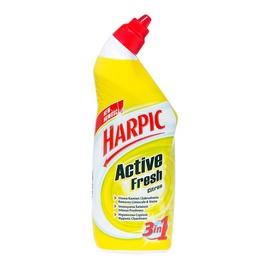 Unitazų valiklis Harpic Active Fresh Citrus, 0,75 l