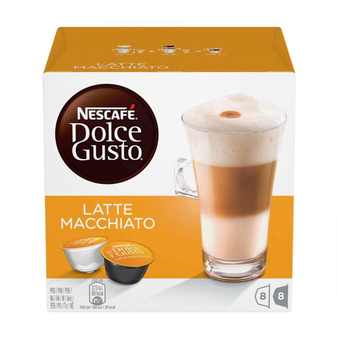 8983ef78d4a Nescafe Dolce Gusto Latte Macchiato 16 Capsules - Krauta.ee