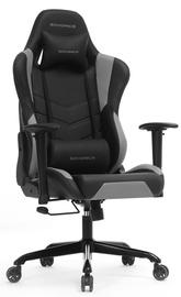 Игровое кресло Songmics, черный/серый