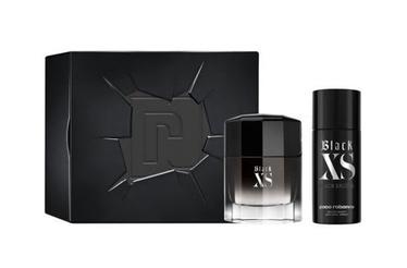 Paco Rabanne Black XS 100ml EDT + 150ml Deodorant 2018