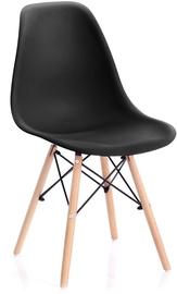 Homede Margot Chairs 4pcs Black