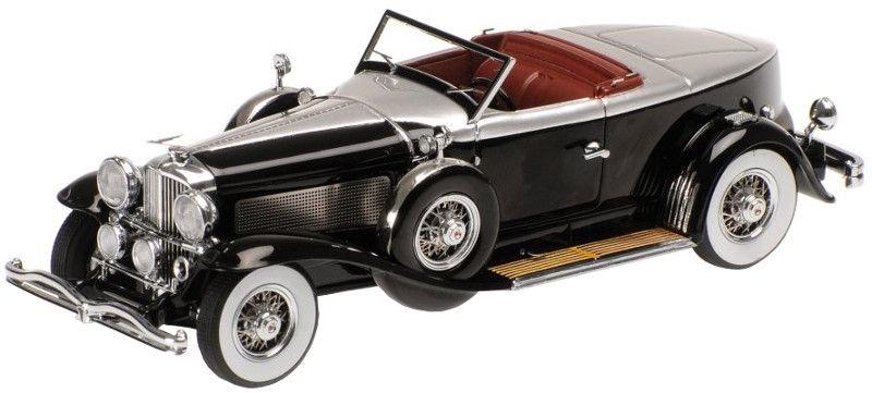 Minichamps Duesenberg Model J Torpedo Convertible Coupe 1:43 Black