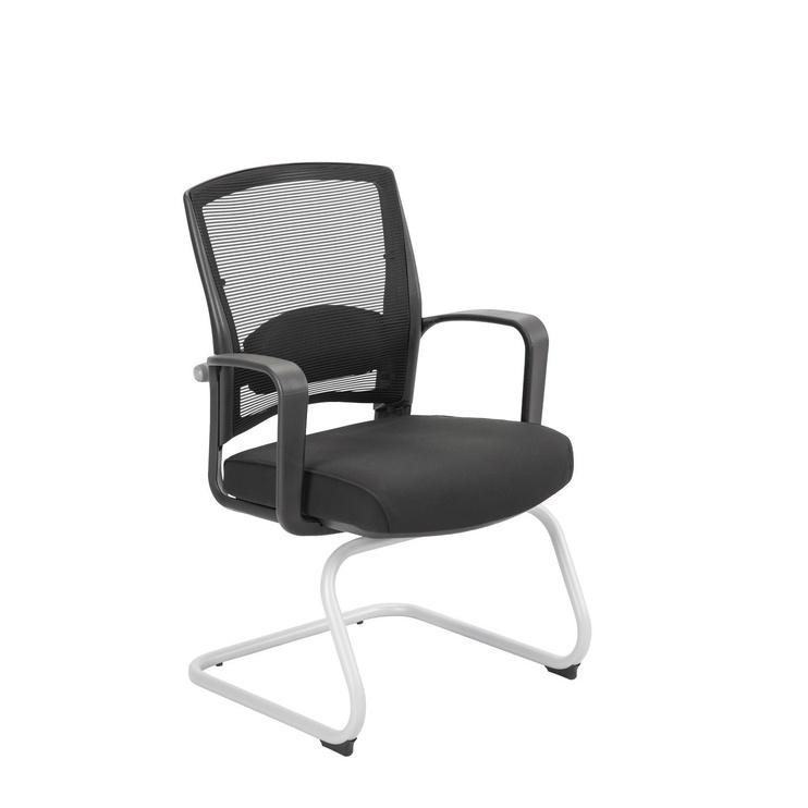 Apmeklētāju krēsls Home4you Fulkrum Black