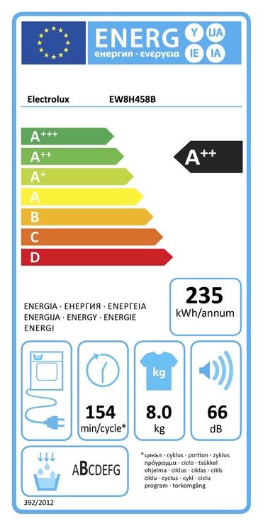 Skalbinių džiovyklė Electrolux EW8H458B